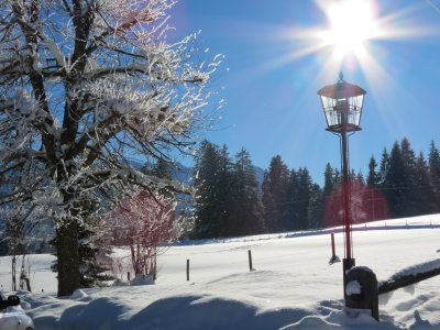 Winter 2017 - Hofeinfahrt