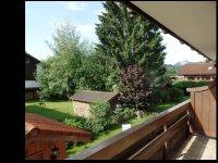 Sommerwiese - Blick vom Balkon