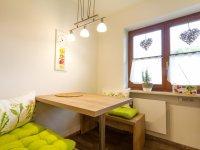 Sommerwiese - Der Eßplatz in der Küche