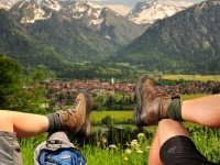 Auf geht's zum Wandern u. Bergsteigen nach Oberstdorf
