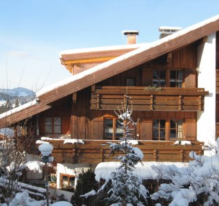 Ferienwohnungen Scherm im Winter