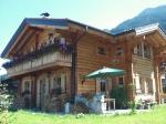 Holzhaus mit Garten - Fewo. mit Quergiebel