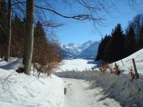 Winterwanderweg nach Rubi