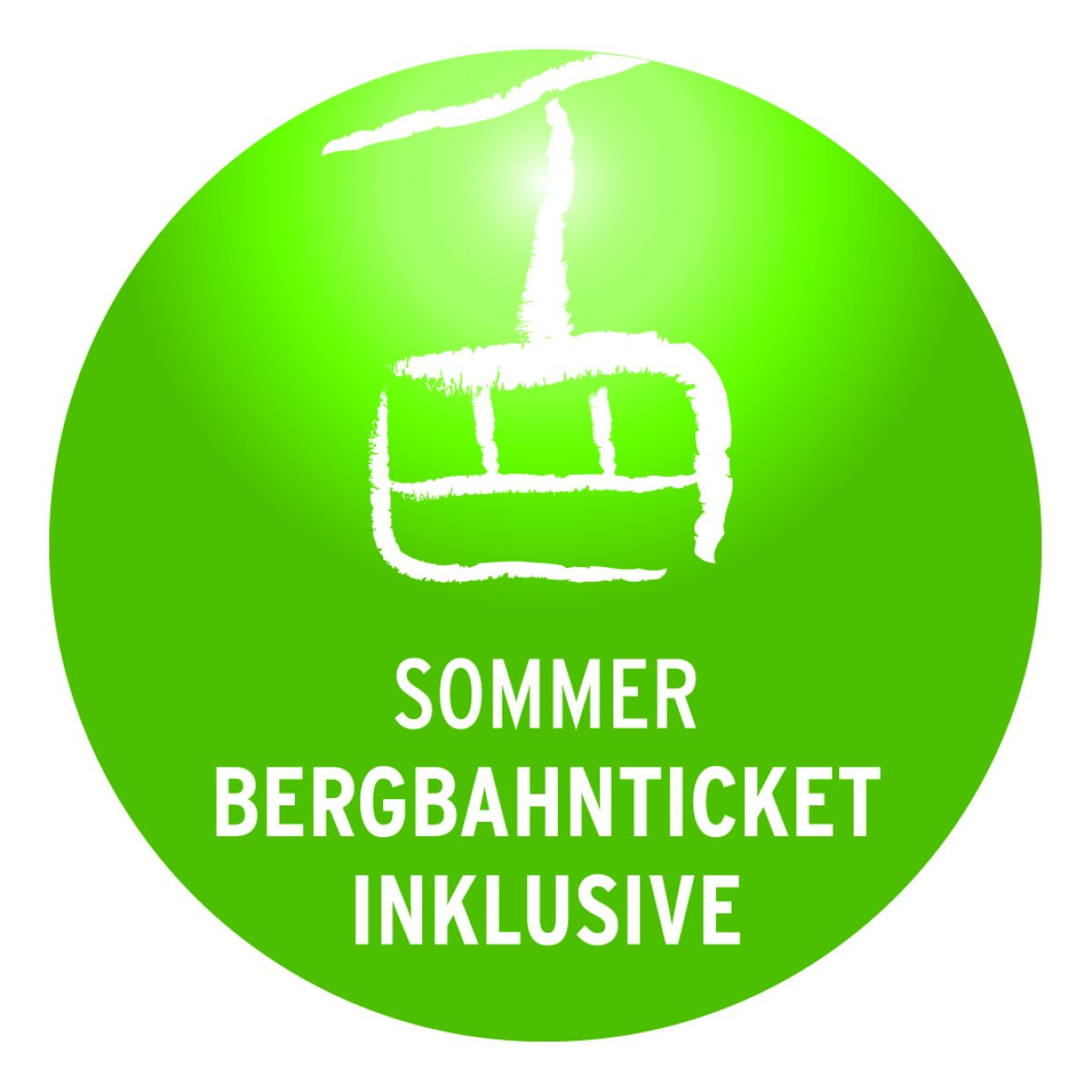Sommer Bergbahnticket inklusive