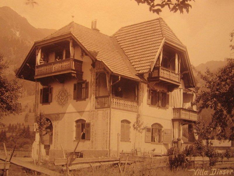 Malerhaus Villa Dünßer 1895