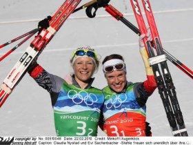 Vankouver 2010 - Sprint-Goldmedaille (c) Sammy Minkoff