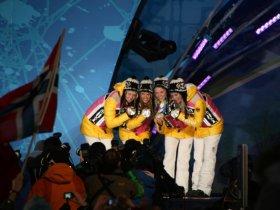 Vankouver 2010 - Staffel-Silber (c) privat