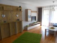 Wohnraum mit Zustellbetten