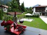 Ausblick vom Balkon der FeWo Alpen-Rose