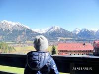 Traumhafte Aussicht von Balkon und Wohnung