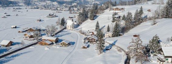 Bergheimat im Winter