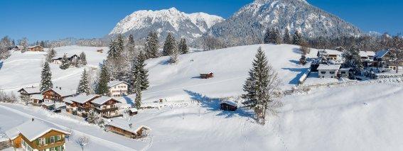 Winterlandschaft Bergheimat