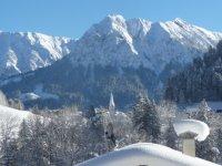 Ausblick im Winter
