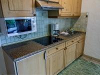 Küche der Erdgeschosswohnung