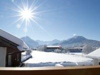 Winterbild Balkon 4 Süden