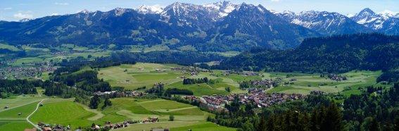 Obermaiselstein im Frühling