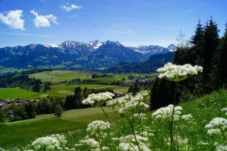 Obermaiselstein mit Rubihorn