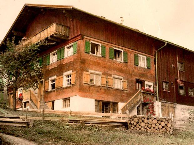 Haus frueher