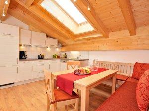 Küche / Essen - Ferienwohnung Alpenrose