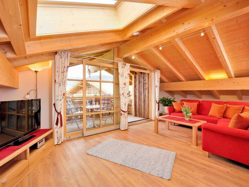 Wohnen - Ferienwohnung Alpenrose