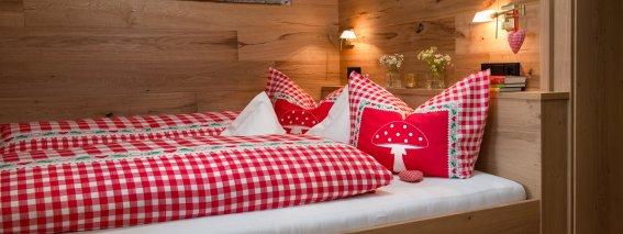 FeWo Waldeule - Schlafzimmer