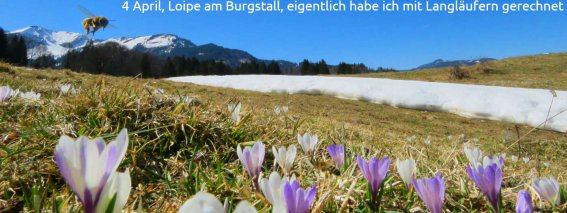 April 4 Loipe am Burgstall