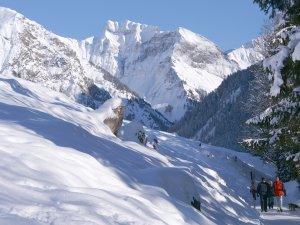 Winterwandern im Oytal