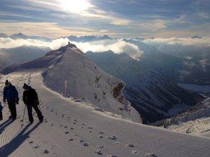 Winterwandern am Nebelhorn