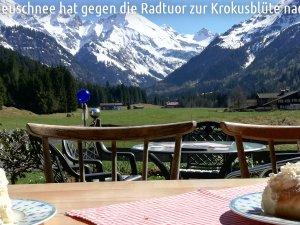 Radtuor zur Krokusblüte nach Einödsbach