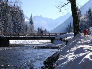 Winterwandern im Trettachtal