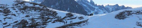 Winterwandern im Nebelhorngebiet