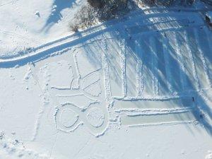 Eisstockschiessen auf dem Moorweiher P1050382
