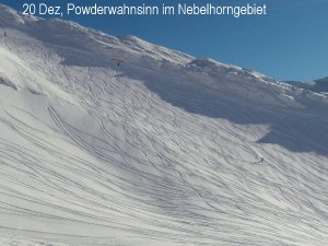 20 Dez Powderwahnsinn am Pfannenhoelzle SDC13562