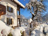 Winter vor dem Scheibenhaus