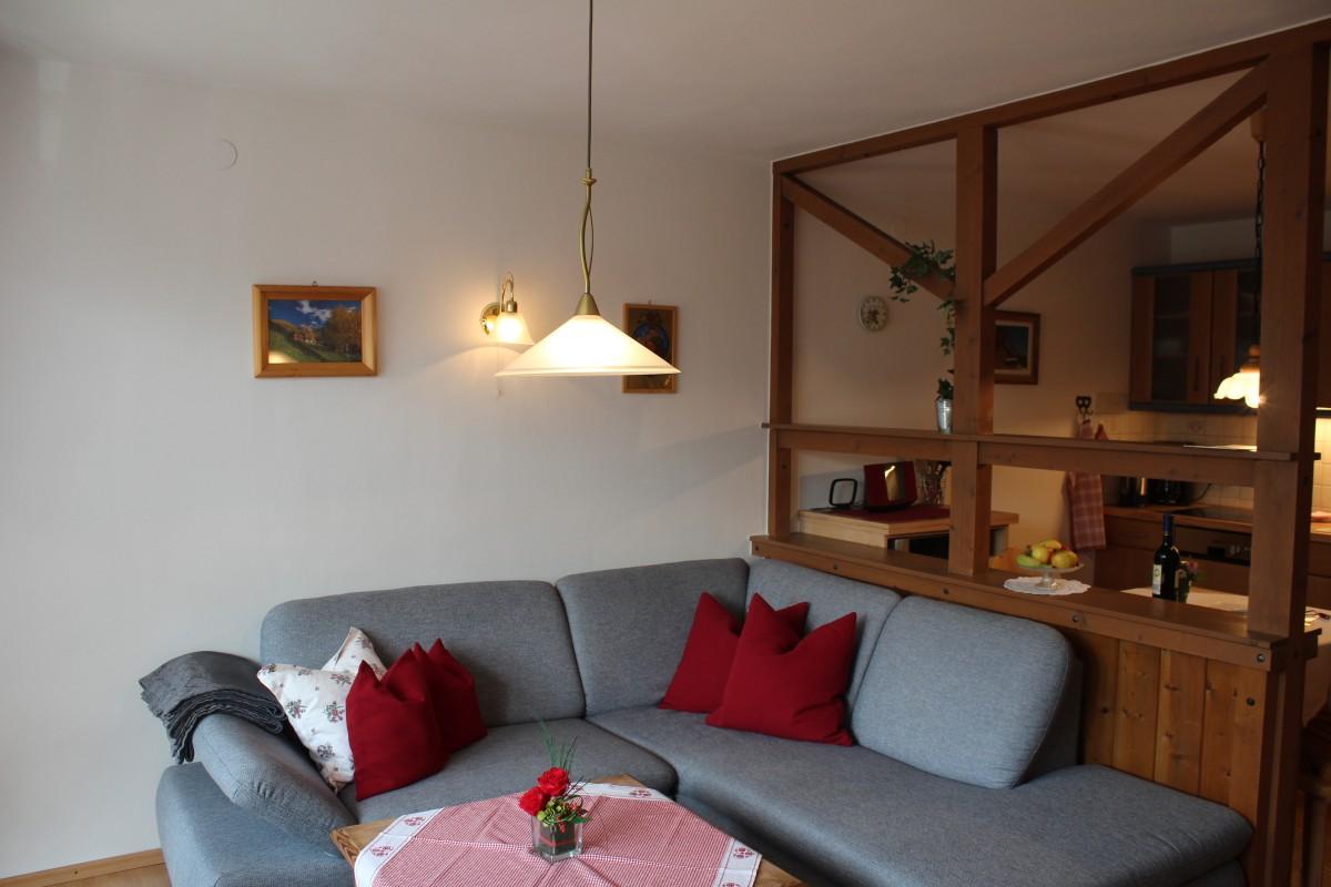 Wohnküche Ferienwohnung 1