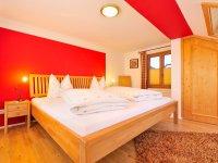Schlafzimmer Ferienwohnung Schattenberg