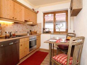 Küche Ferienwohnung Fellhorn