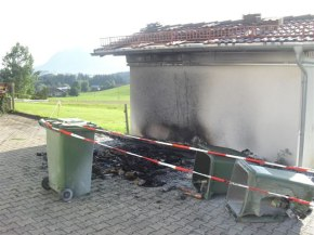 Brand Mülltonne Kierwang