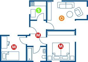 Rauchmelderschutz in der Wohnung