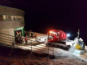 Einsatz Brand Hörnerbahn Bergstation