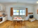 Wohnküche Fewo Drei Linden -Panoramaansicht