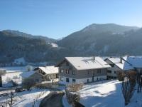 Aussicht Bergblick Winter