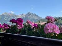 Alpentraum - Der Blick vom Balkon