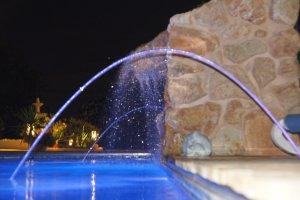 Lichtspiel im Wasserfall