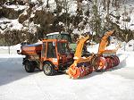Große u. kleine Schneefräsen für den Winterdiensteinsatz