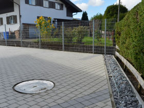 Pflasterung Hofeinfahrt