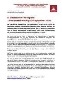 PM 03 2020 - Terminverschiebung auf September