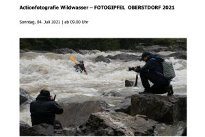 Infoblatt Workshop Actionfotografie Wildwasser