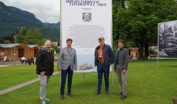 Spontanbesuch Norbert Rosing