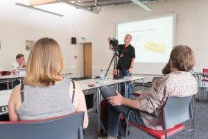 Workshop mit Michael Claushallmann